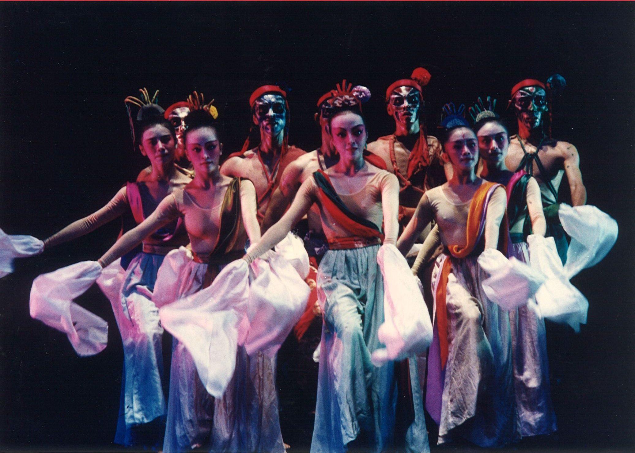 1993印尼舞蹈節演出林懷民《星宿》
